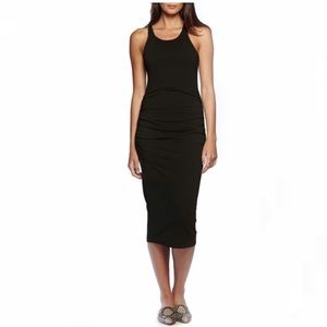 MICHAEL STARS Racerback Midi Dress! Size L (8-10).